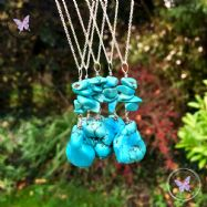 Turquoise Nugget Healing Pendant Necklace